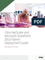 Deployment Guide Netscaler Office 365 En
