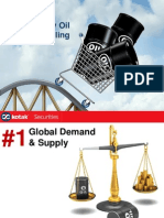 Reasons of crude prices falling
