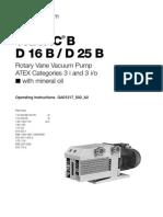 Trivac b d16b-d25b