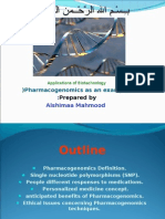 More About Pharmacogenomics