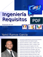 Introduccion al curso de Requerimientos