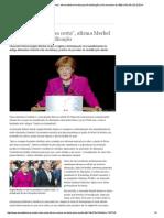 ″Fizemos Muita Coisa Certa″, Afirma Merkel Em Festa Pela Reunificação _ 9 de Novembro de 1989 _ DW.de _ 03.10