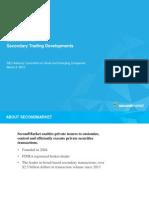 SecondMarket Secondary Trading ACSEC 3.4.15