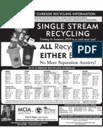 2010 Recycle Calendar