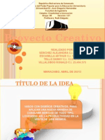 Proyecto Creativo
