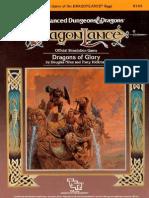 AD&D DL11 Dragons of AD&D DL11 Dragons of Glory - TSR 9144Glory - TSR 9144