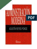 LIB Administración Moderna - Agustín Reyes Ponce-TUTOMUNDI.com