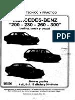 Manual de Taller Completo Mercedes-Benz Carrocería w124