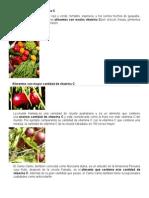 Alimentos Ricos en Vitamina C 7-3-15