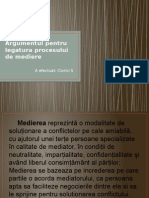 Argumentul Pentru Legatura Procesului de Mediere 1 (1)