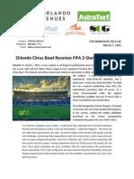 Orlando Citrus Bowl FIFA 2-Star Release