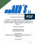 Propuesta de auditoria-externa