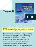 7eCh10 - LU Decomposition