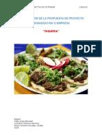 Propuesta de Tacos Naye