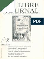 Libre Journal de la France Courtoise N°092