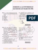 EXAMEN DE ADMISIÓN - UNMSM 1981.pdf