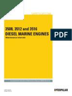 3508, 3512, and 3516 Diesel Marine Engines-Maintenance Intervals.pdf