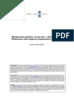 MANIPULACION GENETICA Y DERECHO PENAL
