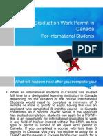 Post Graduation Work Permit in Canada