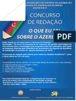Regulamento - Concurso - Embaixada Do Azerbaijão