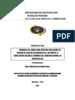 INCIDENCIA DEL MODELO MULTICRITERIO CON ENFOQUE DE PROCESO DE ANÁLISIS JERÁRQUICO EN LA GESTIÓN DE LA ZONIFICACIÓN ECOLÓGICA ECONÓMICA DEL GOBIERNO REGIONAL DE HUANCAVELICA