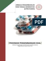 Pedoman Pengembangan Soal Uji CBT Farmasi