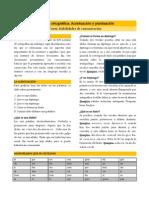 Lectura 05 Revisión Ortográfica - Tildación y Puntuación