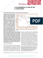 Flouroquinolones in Paediatrics. a Risk for the Patients or for the Comunity