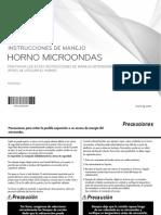 Manual Microondas Lg