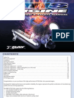 XRAY NT18 Engine Instruction & Safety Manual