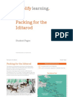 packing for the iditarod