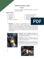 Diagramas de Control y Fuerza (Practica 8)