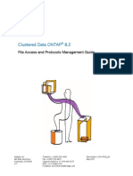 Clustered Data ONTAP 82 File Access and Protocols