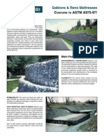 Maccaferri Conform to ASTM A975-97 Brochure