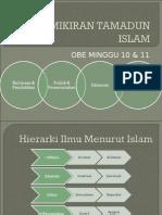 Mng 10 & 11 - Pemikiran Tamadun Islam