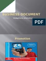 Business Document Voda Xx