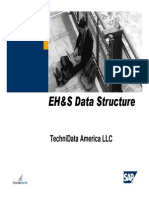 EH&S Data Structure