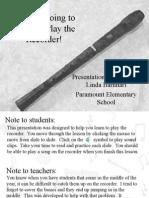 Recorder(flute)