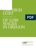 The High Cost of Low Wages in Oregon