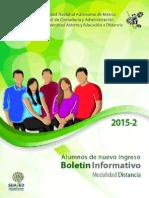 Boletin Informativo Distancia 2015 2