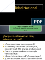 Realidad Nacional Peru