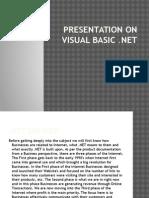 Vb.net Presentation