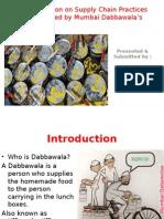 PPT dabbawalas