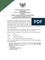 PENGUMUMAN Kelulusan Cpns Bkn 2014