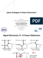 Basic Strategies in Power Electronics