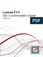 IDE CustomizationGuide