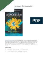 Summary of Nonviolent Communication