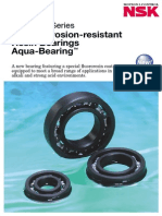 High Corrosion Resistant -Resin Bearings -Aqua Bearings-spacea Series
