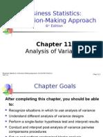 Chapter 11 - ANOVA