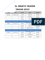 JADUAL WAKTU TASMIK TAHUN 2015.docx